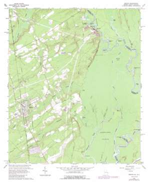 Rincon topo map