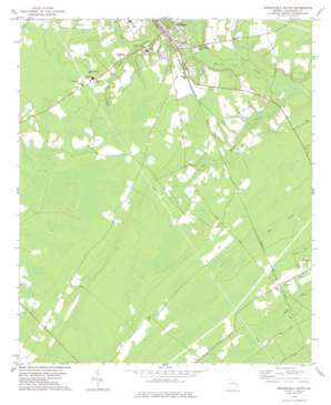 Springfield South USGS topographic map 32081c3