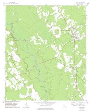 Guyton topo map