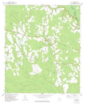 Stilson topo map