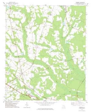 Denmark topo map