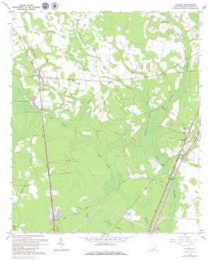 Tillman USGS topographic map 32081d1
