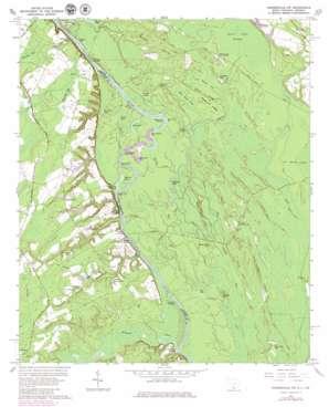Hardeeville Nw topo map