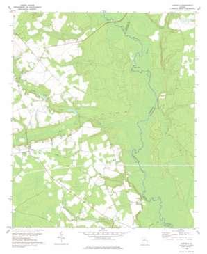 Leefield topo map