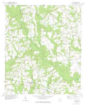 Pulaski topo map