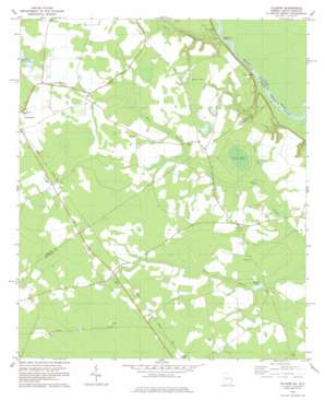 Kildare topo map