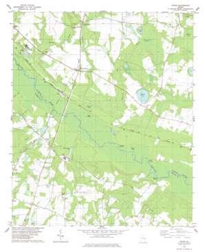 Dover topo map