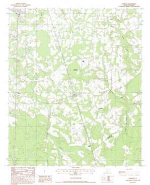 Furman topo map