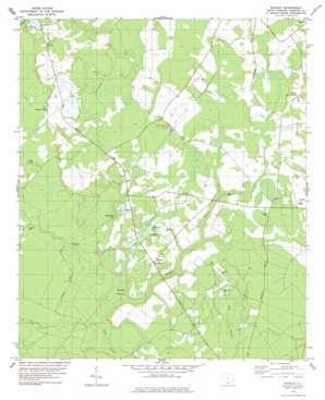 Shirley topo map