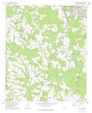 Sylvania South topo map