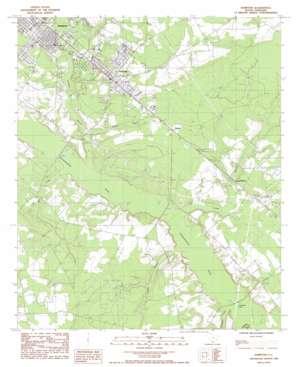 Hampton topo map