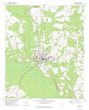 Millen USGS topographic map 32081g8