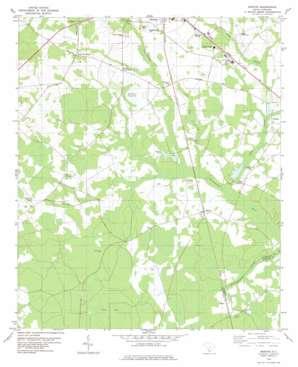 Barton topo map