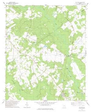 Hilltonia topo map