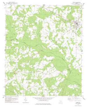Sardis USGS topographic map 32081h7