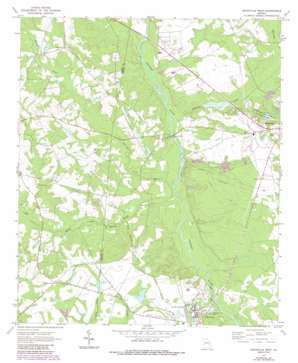 Reidsville West USGS topographic map 32082a2