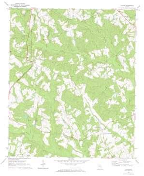 Alston topo map