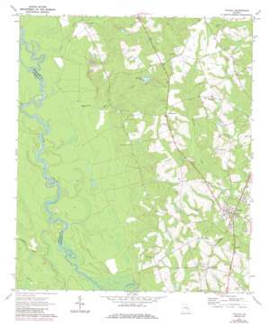 Uvalda USGS topographic map 32082a5