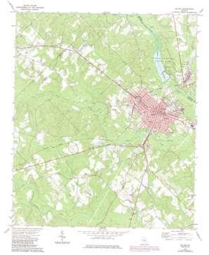 Mcrae topo map