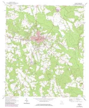 Lyons topo map