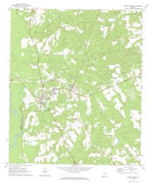 Mount Vernon topo map