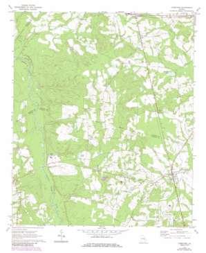 Cobbtown topo map