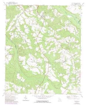 Oak Park topo map