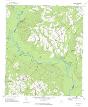Lothair topo map