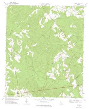 Lowery topo map