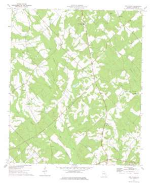 Five Points topo map