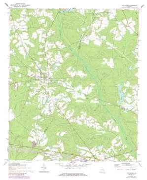 Stillmore topo map