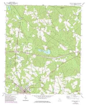 Soperton North topo map