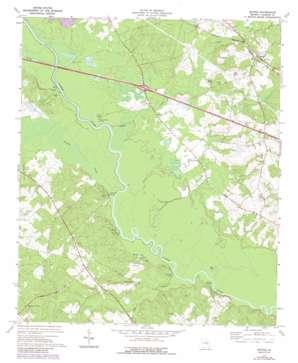 Minter topo map