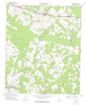 Rentz topo map