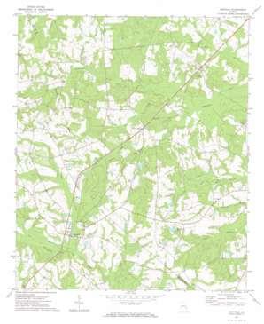 Garfield topo map