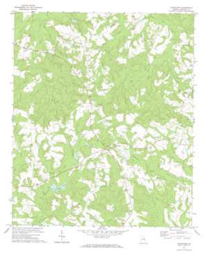 Canoochee USGS topographic map 32082f2