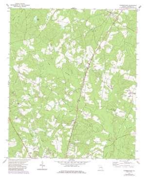 Summertown topo map