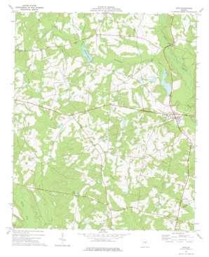 Kite topo map