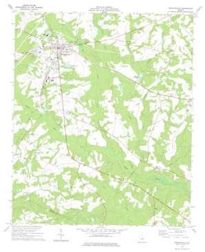 Wrightsville topo map