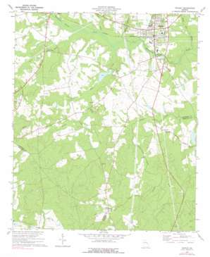 Wadley USGS topographic map 32082g4