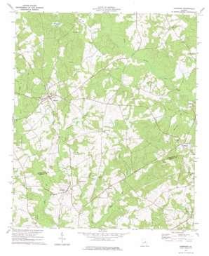 Harrison topo map