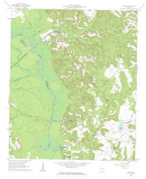 Oconee USGS topographic map 32082g8