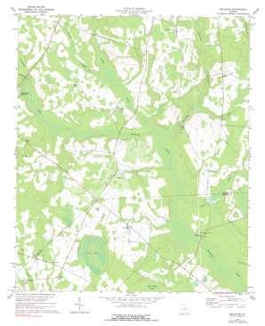 Bellevue topo map