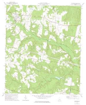Davisboro topo map
