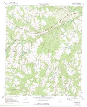 Riddleville topo map