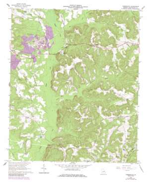 Tabernacle USGS topographic map 32082h8