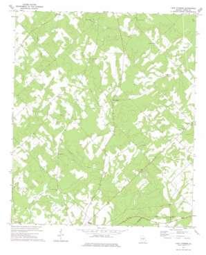 Lake Cypress topo map