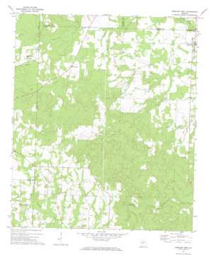 Pineview West topo map