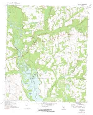 Drayton topo map