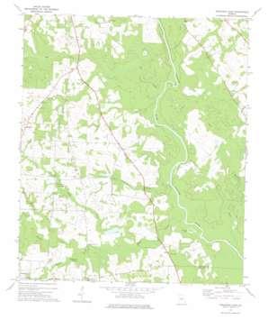 Finleyson East topo map